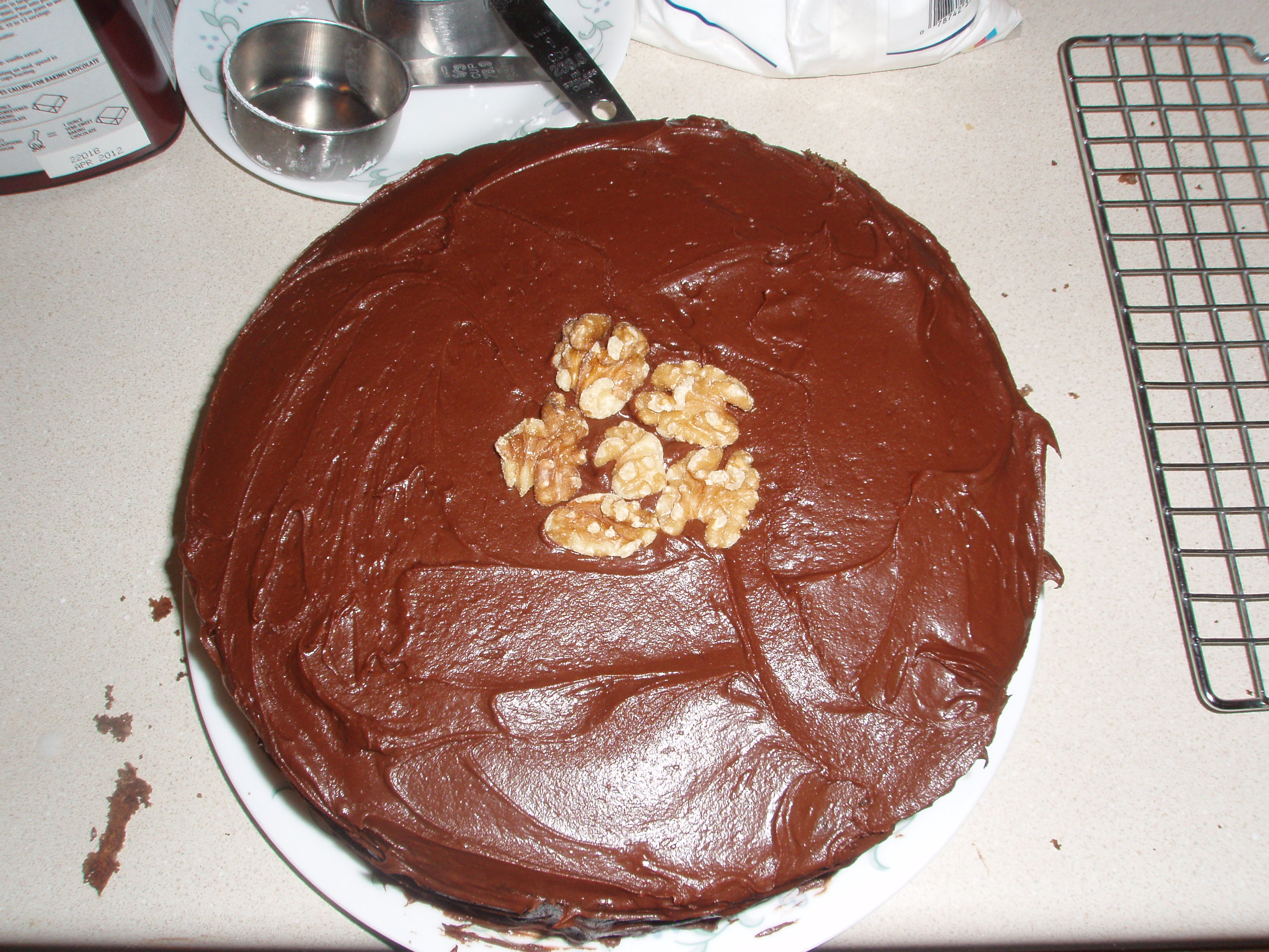 Hershey's Perfectly Chocolate Cake With Chocolate Frosting Recipe ...
